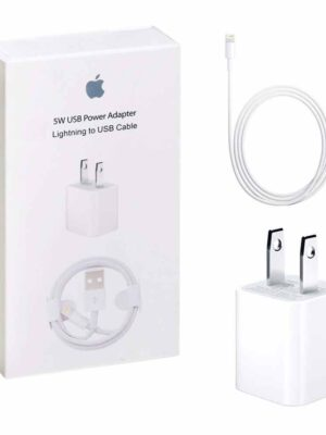 Apple-Adapter-5W-Wall-Charger
